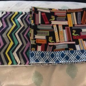 """8 (6"""") School Themed Pre-Made Quilt Squares"""